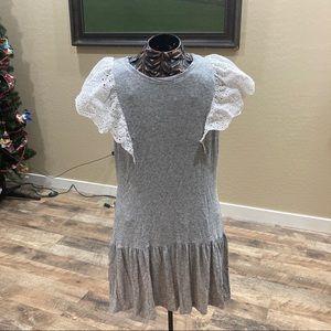 Rebecca Taylor Livy Eyelet Jersey Dress